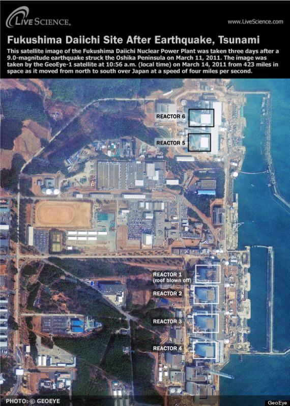 nuclear plants tsunami