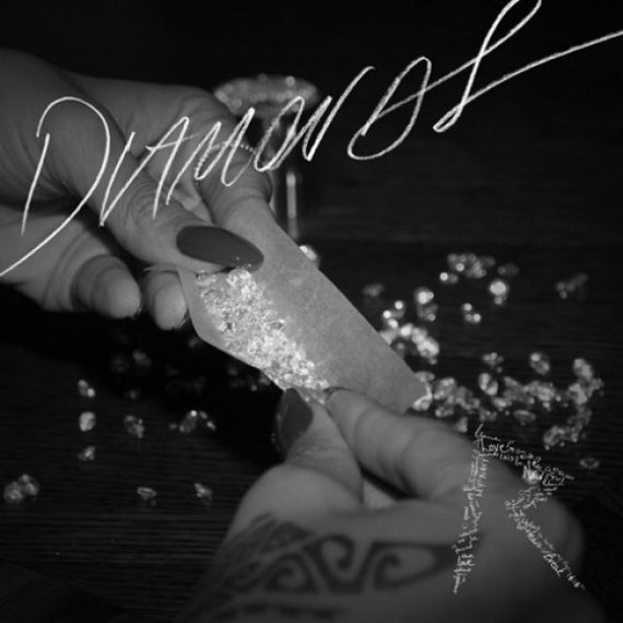 rihanna diamonds album art