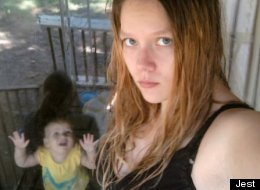 Baby Photobombs
