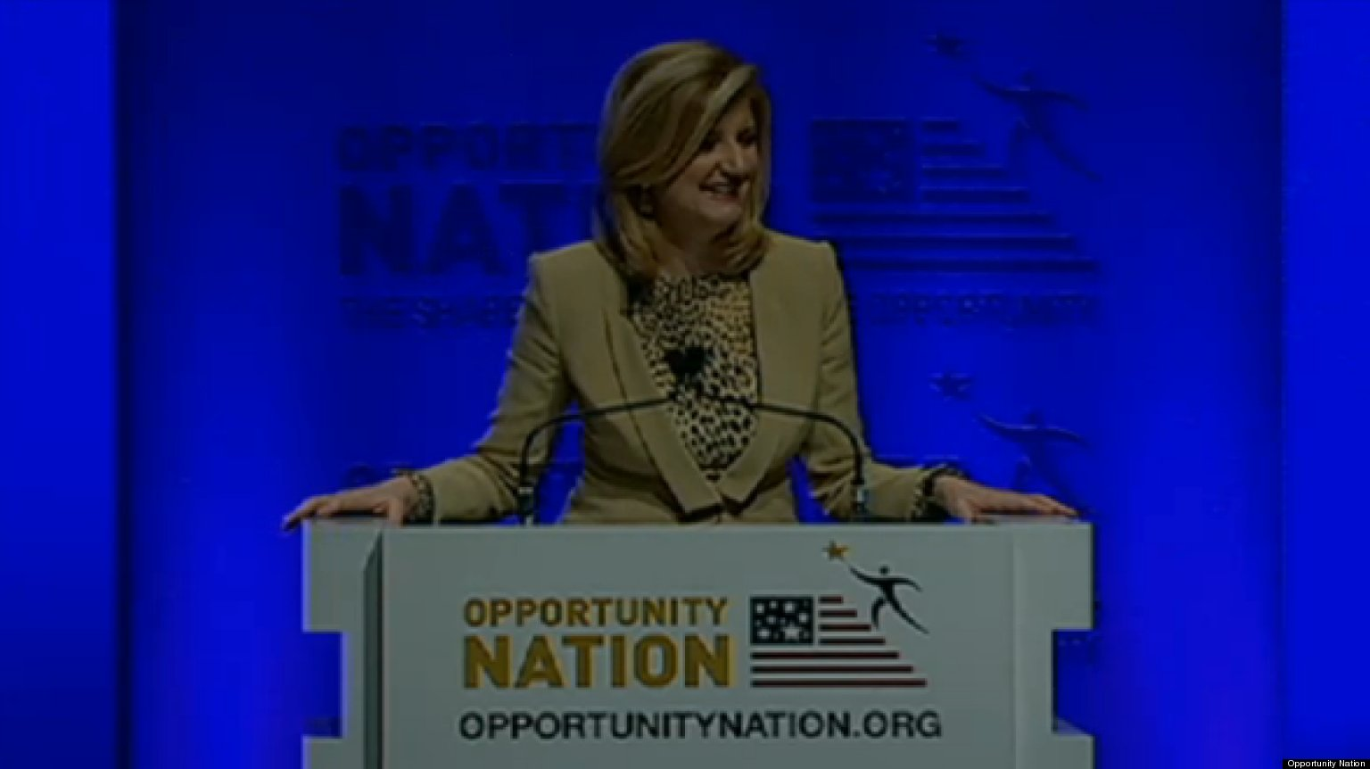 Arianna Speaks At The 2012 Opportunity Nation Summit ...