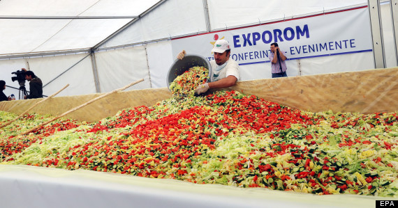worlds largest salad