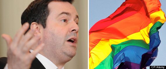 Jason Kenney Gay Flag