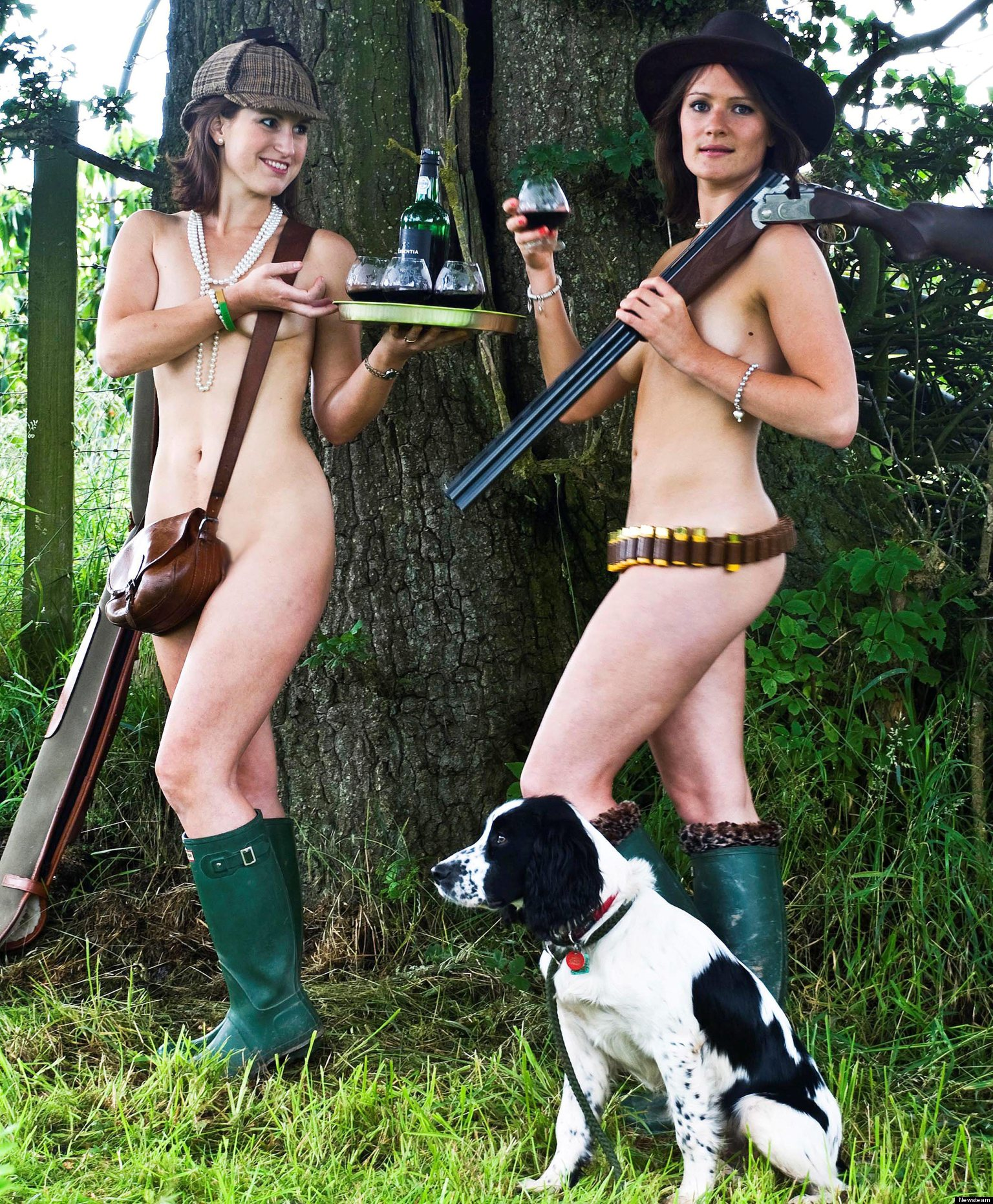 Nude girls hunting nude photo