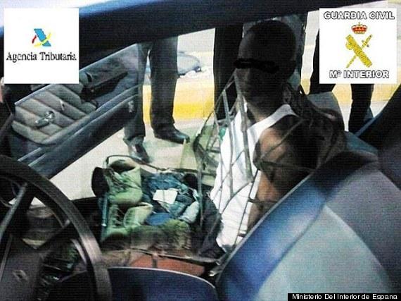 smuggle person seat morocco
