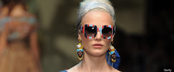 gabbana ss tasseled accessories crystal earrings dolce and s trends