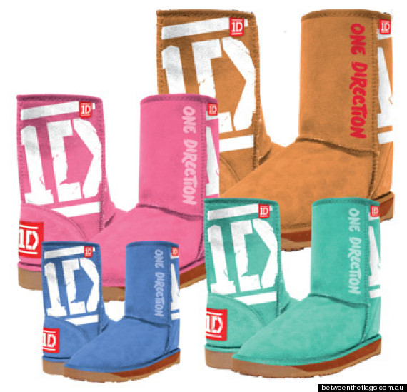 One Direction Uggs: Boy Band Debuts New Line Of Boots (LOOK)