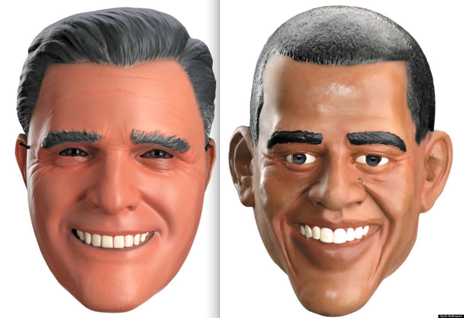 Presidential Halloween Mask Sales: Barack Obama Beating Mitt ...
