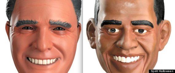 PRESIDENTIAL HALLOWEEN MASKS