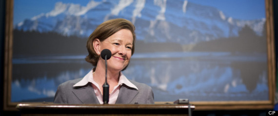 ALISON REDFORD PROVINCIAL BUDGET