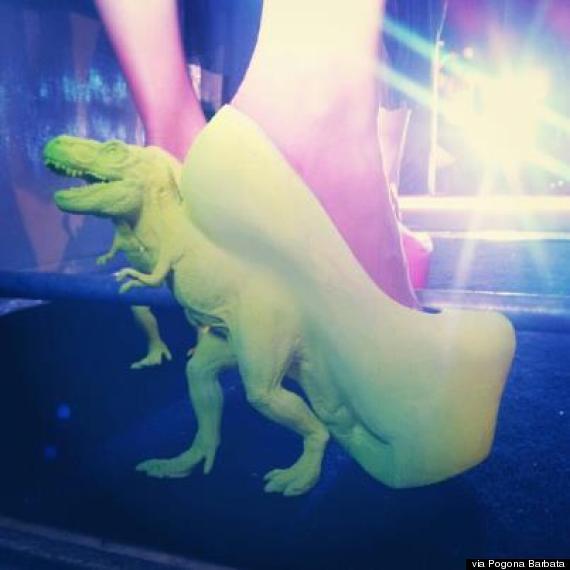 t rex heels