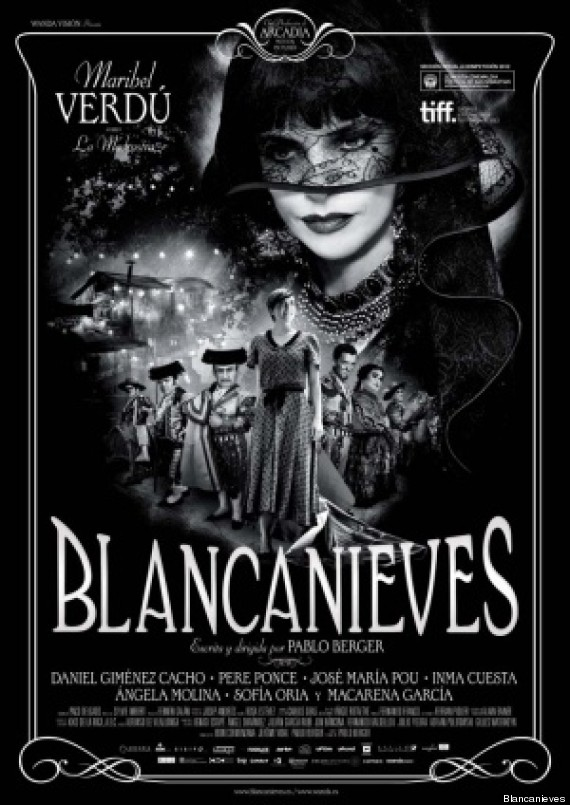 poster blancanieves blanco y negro