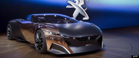 Photos salon de l 39 auto paris les concept cars et les for Salon de l auto a paris