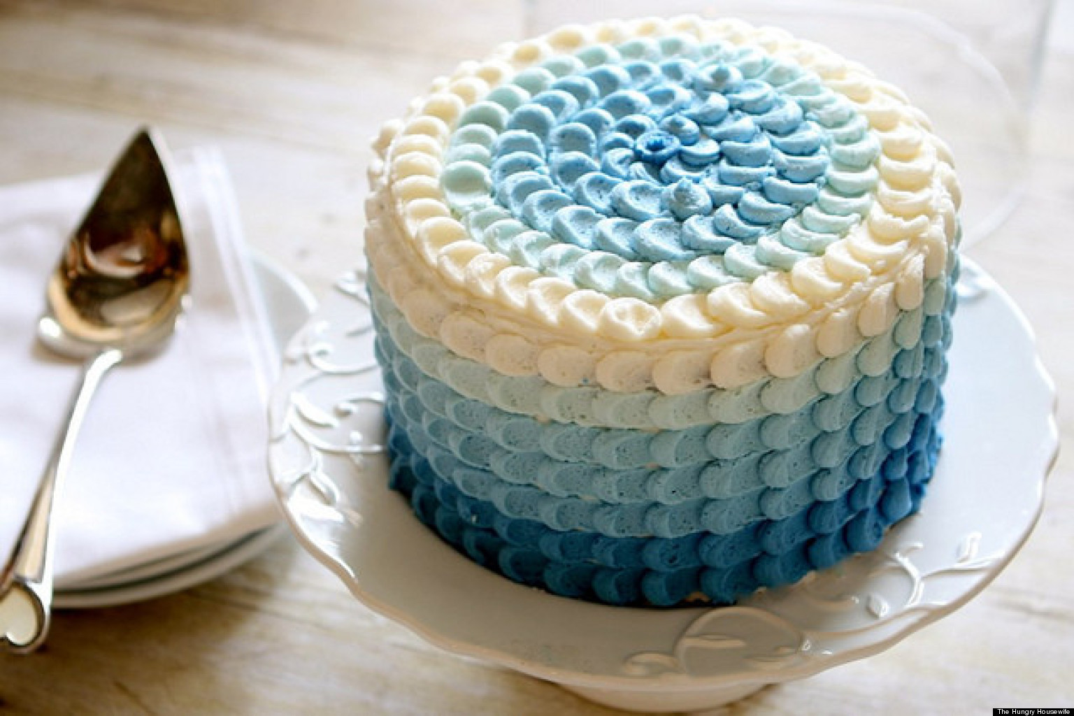 Easy Cake Icing Methods: Ombre Cake: How To Bake Them In Every Color (PHOTOS