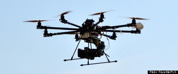 FEAR POLICE DRONES