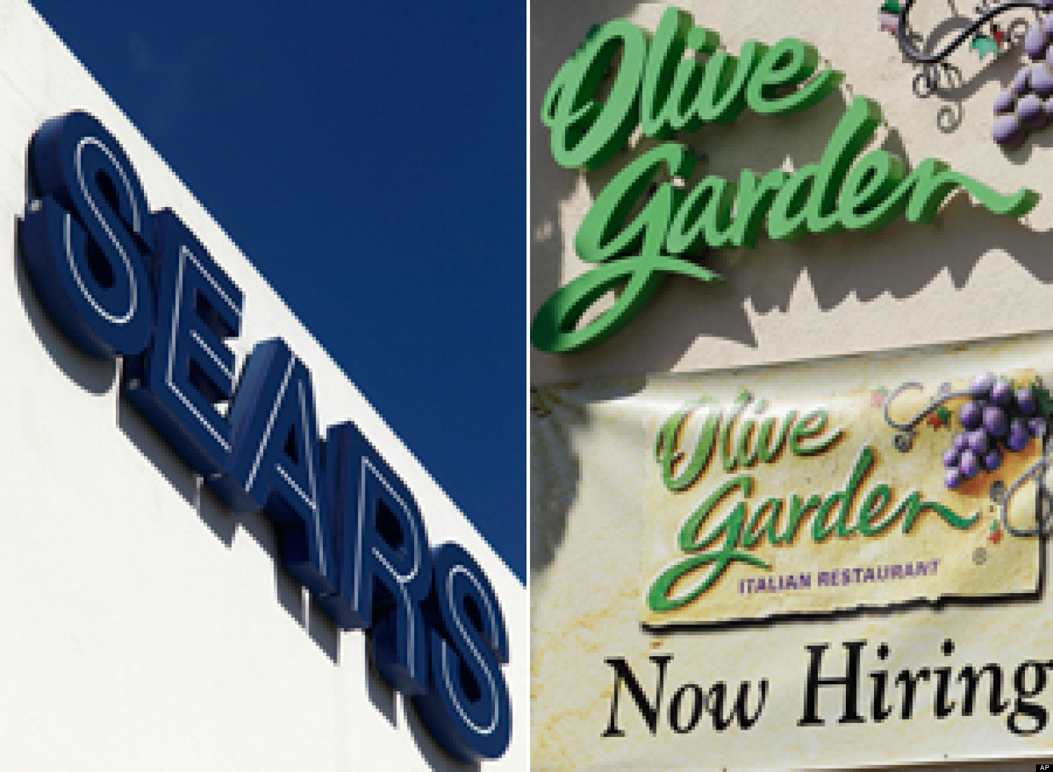 Olive Garden To Go Lifts Darden Profits: Sears, Olive Garden To Offer Employees Money To Pay For