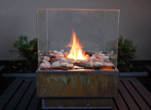 diy idea build a personal indoor or outdoor fire pit photo huffpost. Black Bedroom Furniture Sets. Home Design Ideas