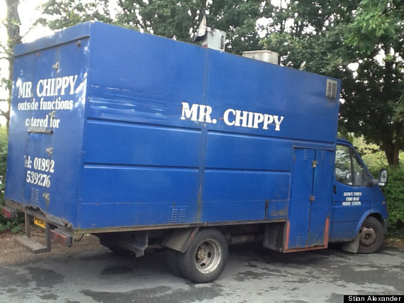 mr chippy van