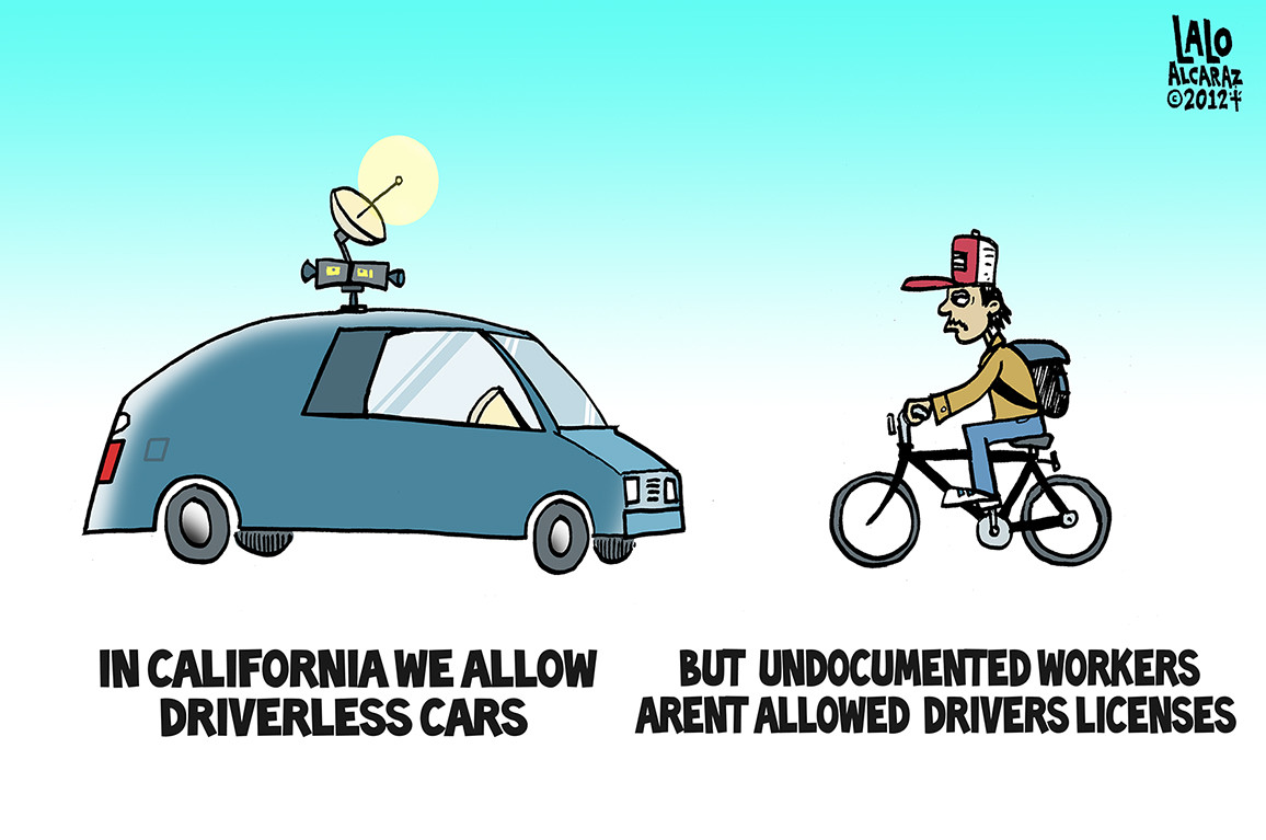 driverless cars licenseless drivers
