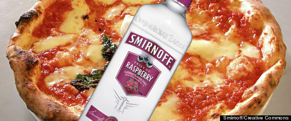 ALCOHOL PIZZA