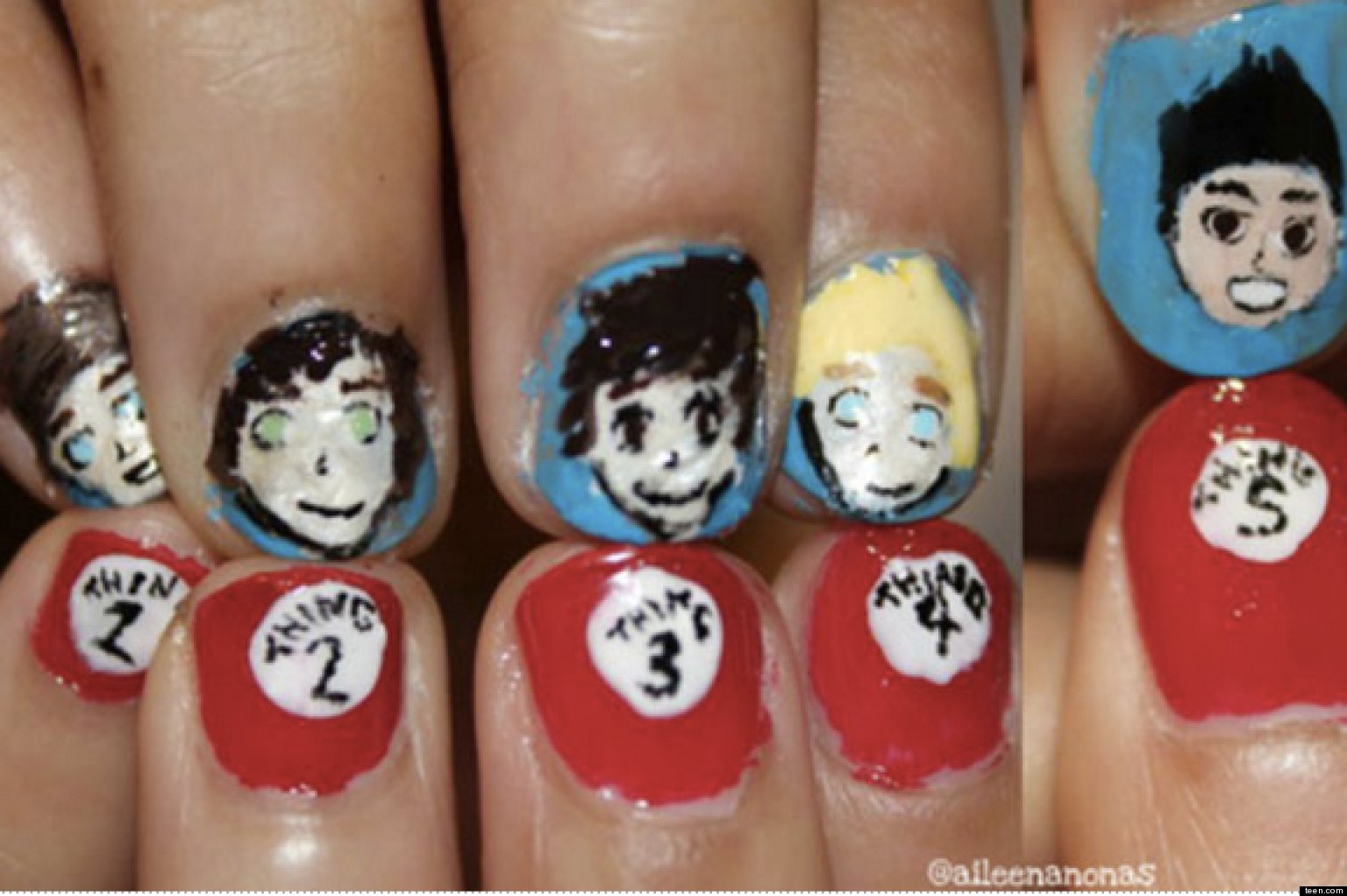 One direction nail art pictures tumblr photos of 1d nail designs