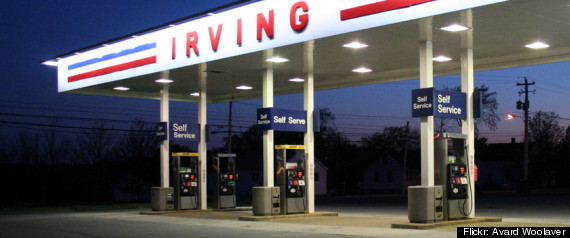 IRVING OIL PRICE FIXING CHARGES