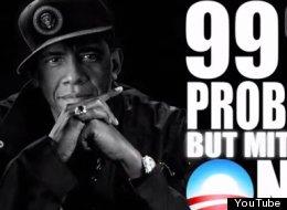 WATCH: Obama Raps '99 Problems'