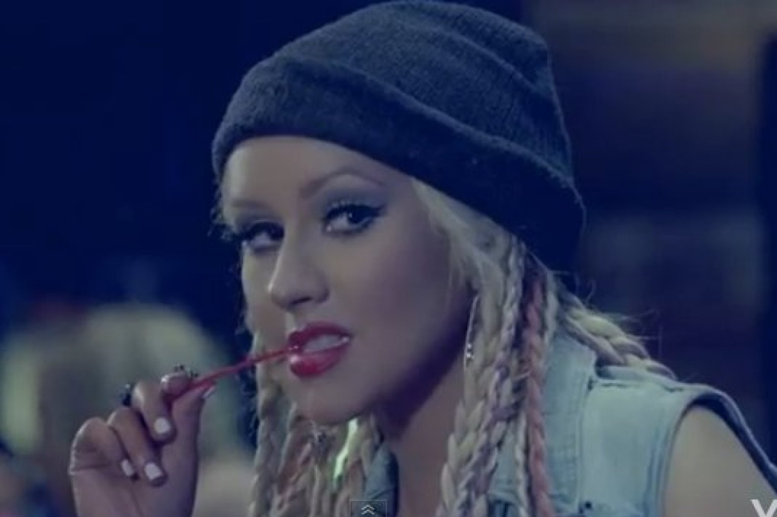 Christina Aguilera S Your Body Video Includes More Hair