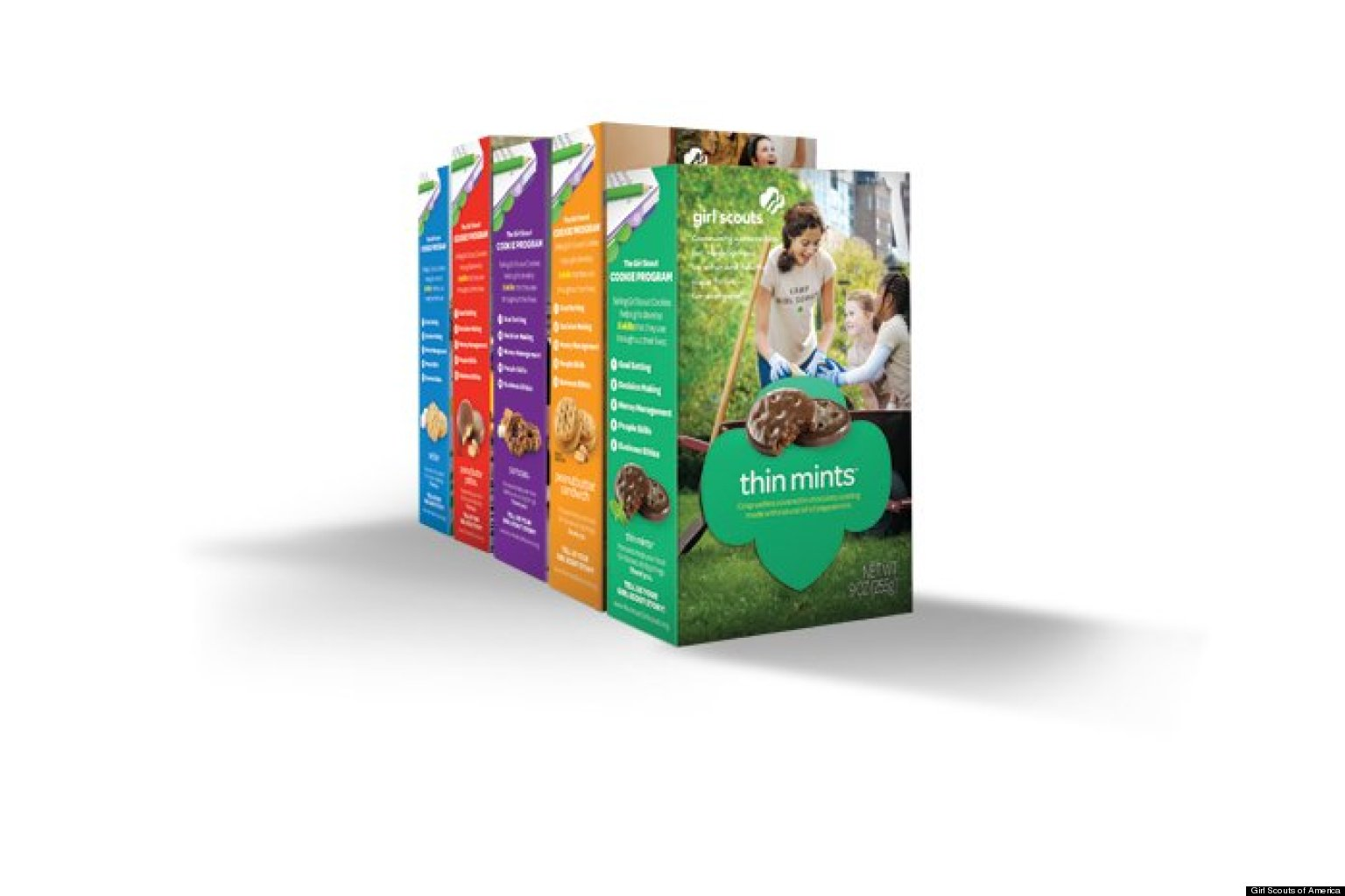 new girl scout cookie boxes to debut this fall photo