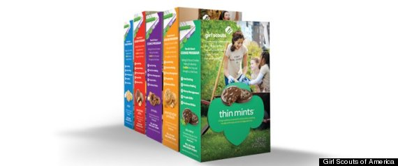 NEW GIRL SCOUT COOKIE BOX