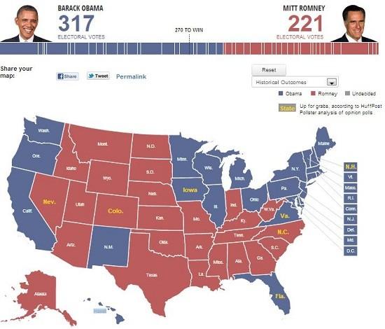 electoral projection september twenty eight