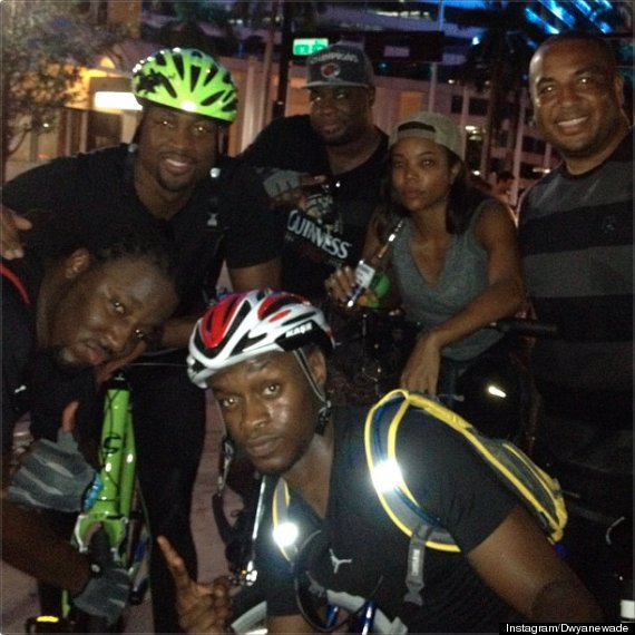 dwyane wade critical mass gabrielle union miami