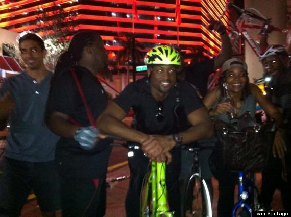 dwyane wade at critical mass miami gabrielle union