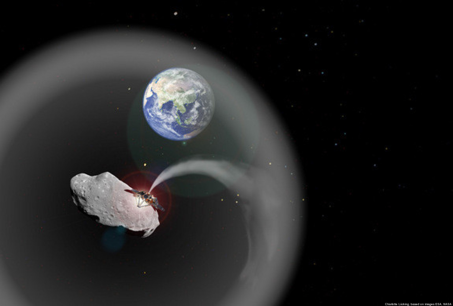 Asteroid Dust Cloud Could Act As Sunshade Fight Climate