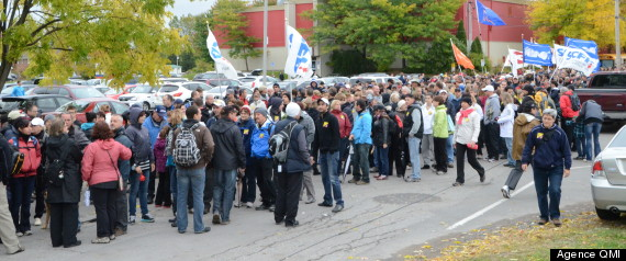 MANIF BECANCOUR