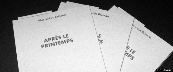 LIVRE PIERRELUC BRISSON