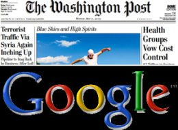 Washington Post Google
