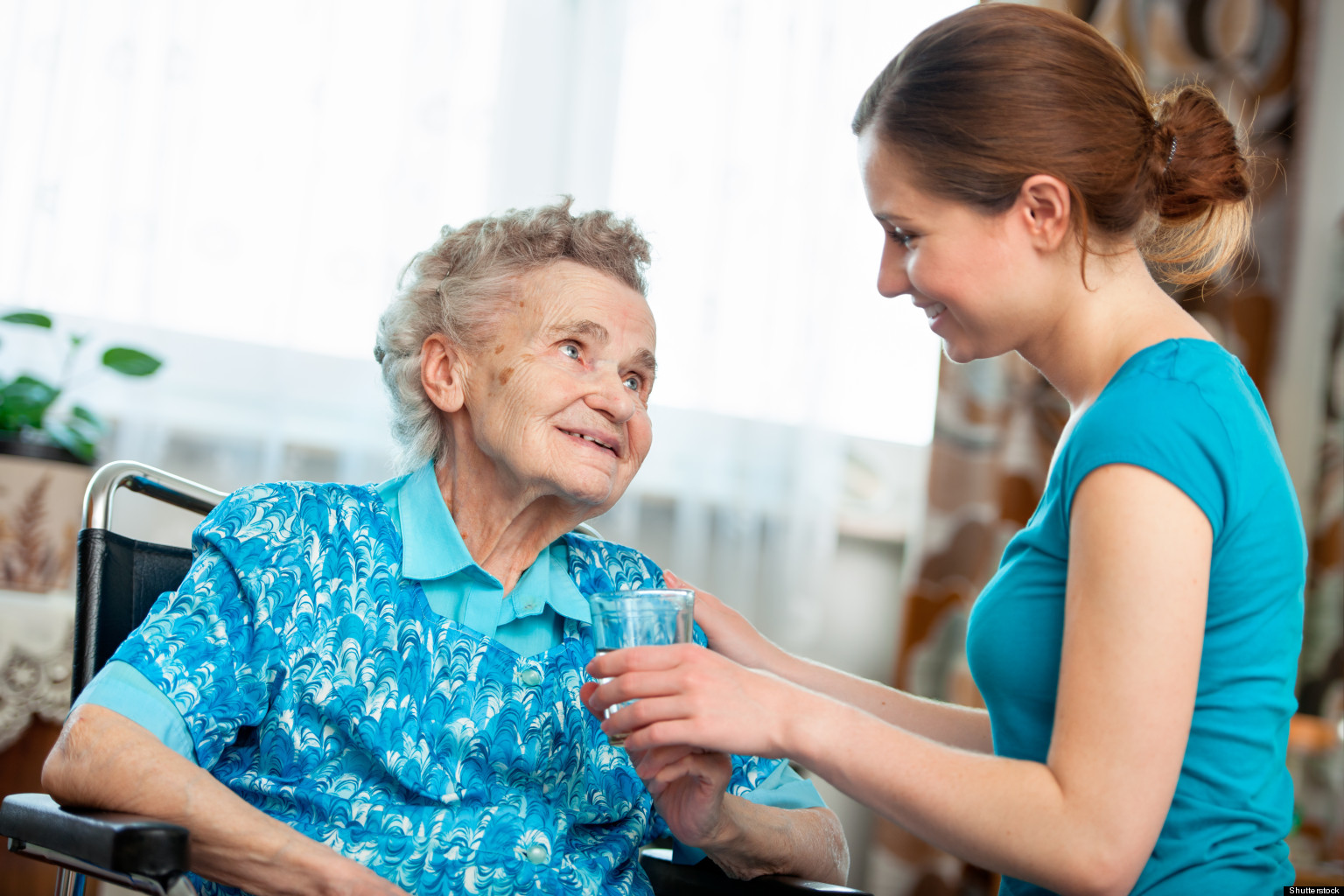 Caring for the elderly is much easier when you can maintain a positive attitude.