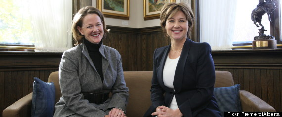 CHRISTY CLARK ALISON REDFORD