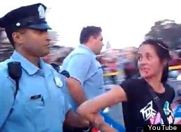 Philadelphia Police Punch Woman Puerto Rican Day