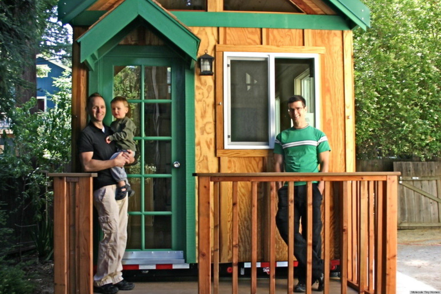150 Sq Ft House Tour Inside This 150 Square Foot House By Molecule Tiny