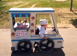 Dad Makes Ice Cream Truck Halloween Costume For Son Who Uses A Wheelchair (VIDEO)