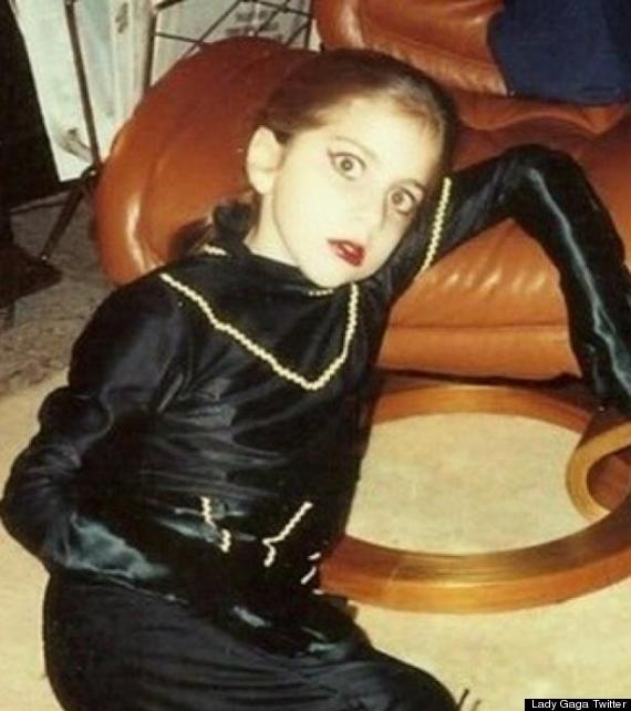 lady gaga 9 ans