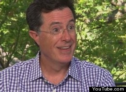 WATCH: Stephen Colbert Gives Rare Interview As... Himself