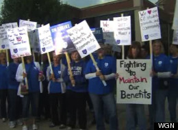 Evergreen Park Teachers Strike