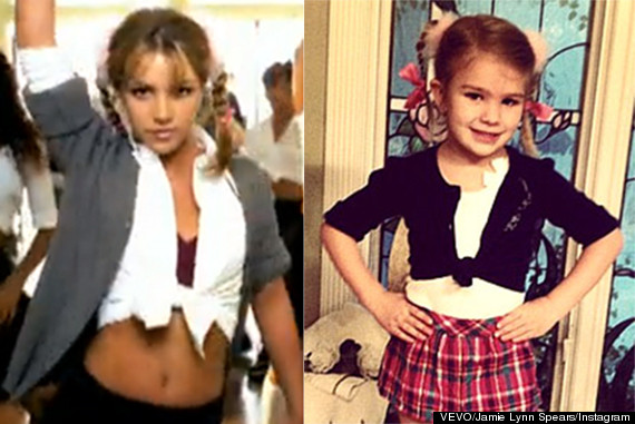 Maddie Aldridge, Britney Spears' Niece, Dresses Up Like ...