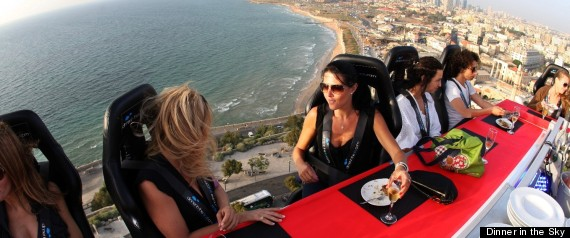 Dinner in the sky comes to delray beach october 20 photos video
