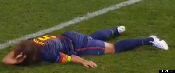 Puyol Injury