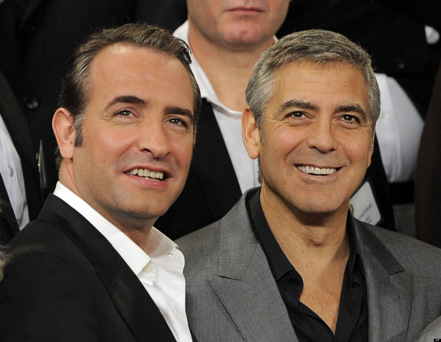 George clooney jean dujardin could team up for - Jean dujardin george clooney ...