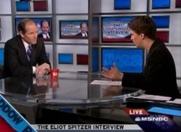Eliot Spitzer And Rachel Maddow