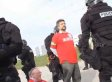 Non-Violent Walmart Protesters In Ellwood, Illinois, Arrested By Riot Police